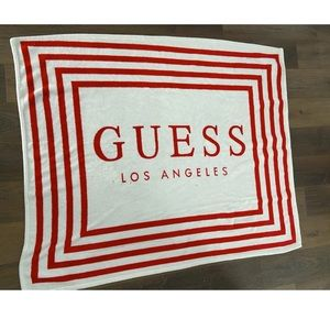 Guess throw blanket